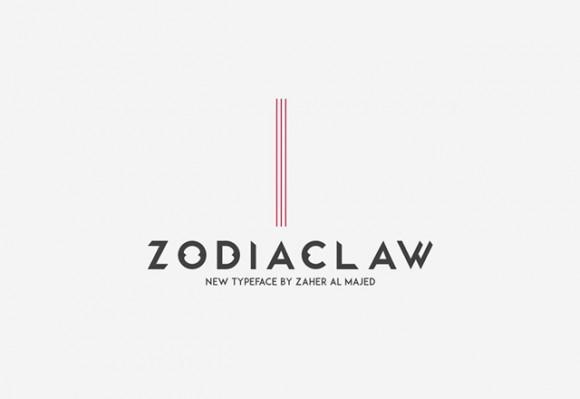 zodiaclaw_free_font