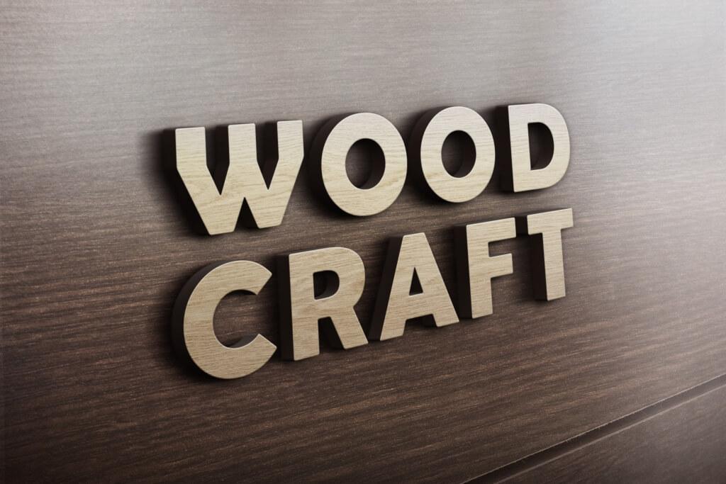 3d_wooden_logo_mockup