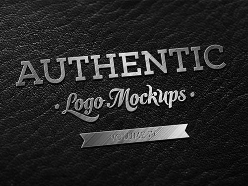 dark_leather_metallic_finish_logo_mockup