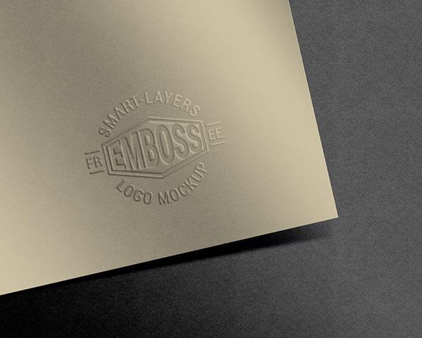 embossed_paper_logo_mockup_psd