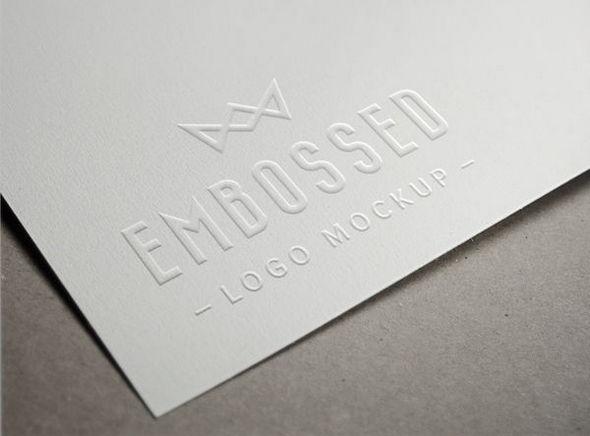 embossed_paper_logo_mockup