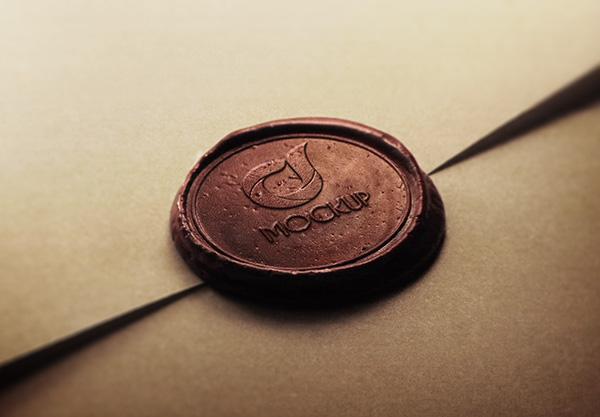 free_wax_stamp_logo_mockup