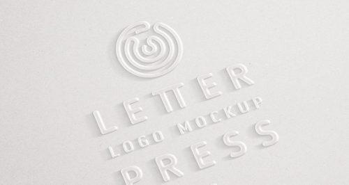 embossed_3d_logo_mockup_template