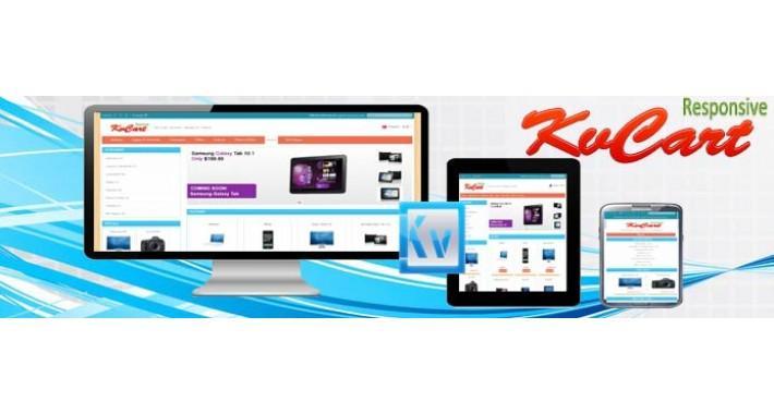 kvcart responsive cart