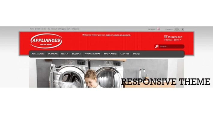appliances responsive template
