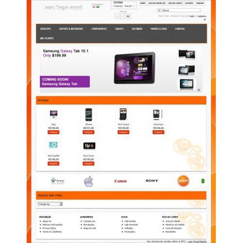 orangecog template