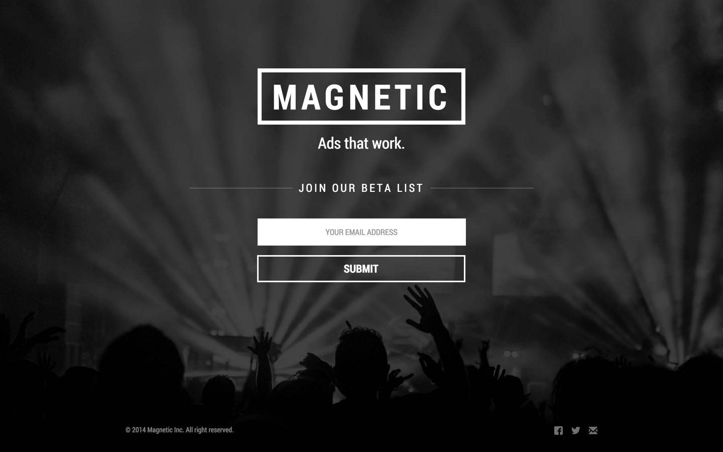 magnetic free webflow template