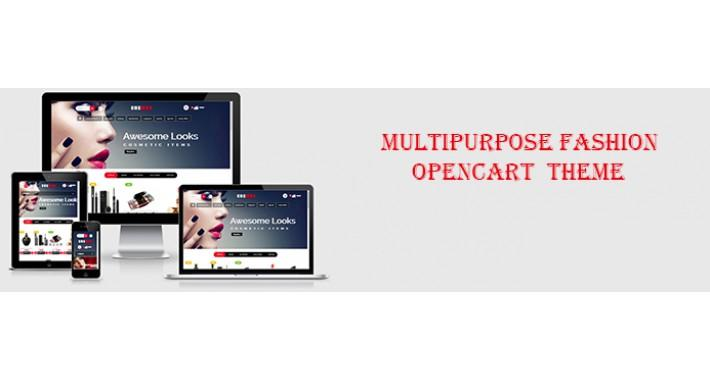 cosmos opencart cosmetics template