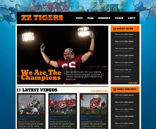 zz_tigers_free_html_football_website_template