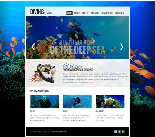 diving_club_free_html_website_jquery_slider