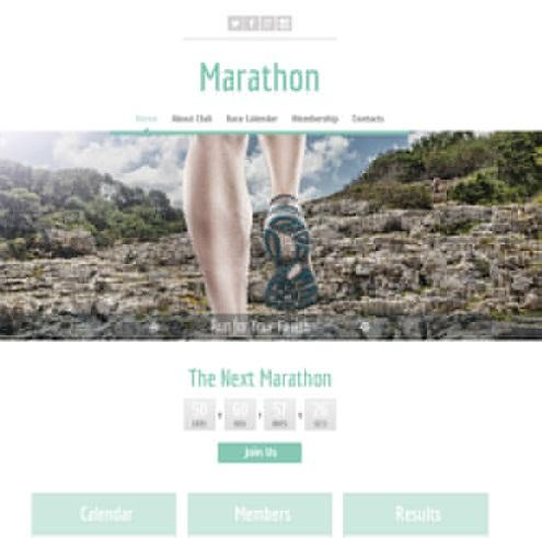marathon_free_stlish_html_sports_template