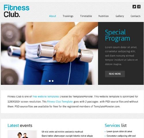 fitness_club_free_html5_sports_website_template