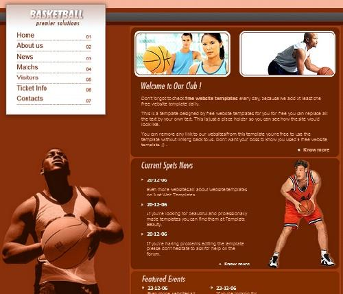 basketball_free_sports_css_template