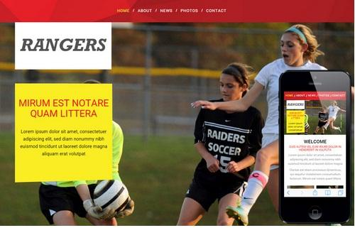 rangers_stylish_html5_css3_sports_website_template