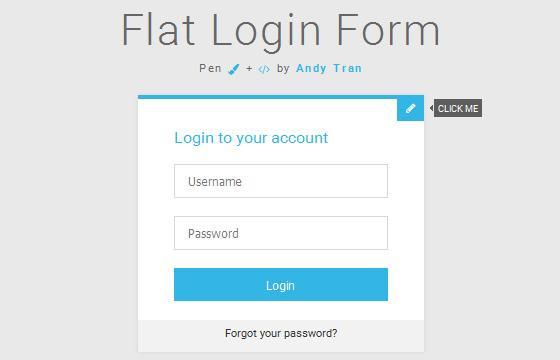 flat_login_form