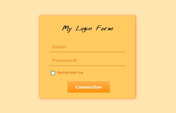 css_login_form