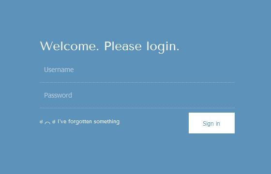 simple_login_form