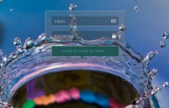transparent_login_form