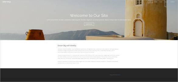 free collective journal weebly template