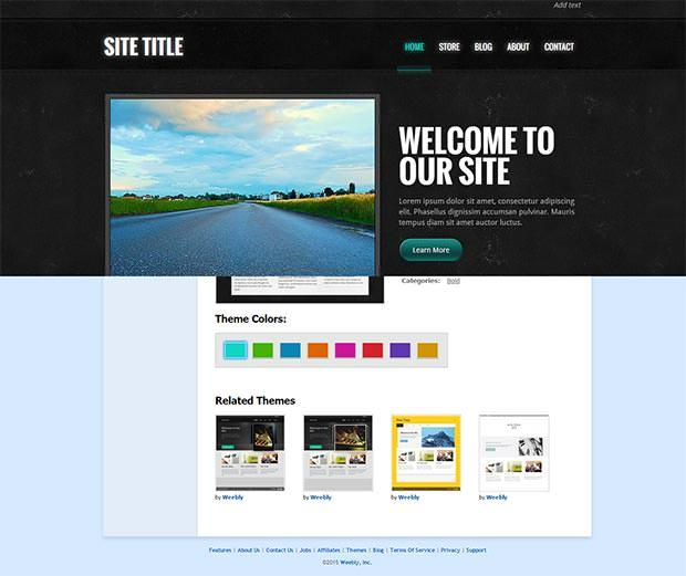 20 gorgeous free weebly templates utemplates