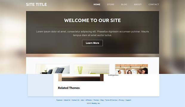 lucent weebly template
