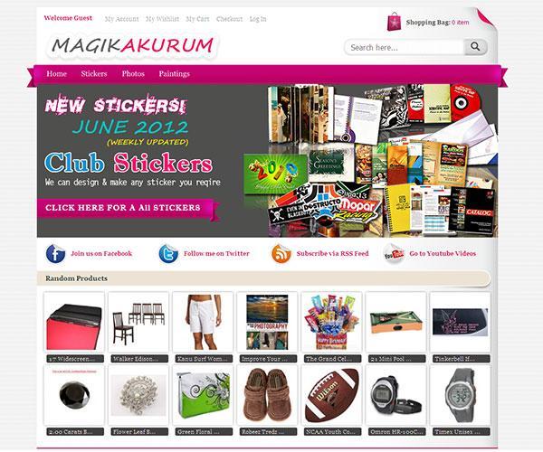 magik akurum free magento template