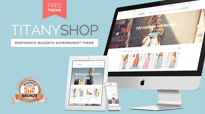 titanyshop free responsive magento supermarket template