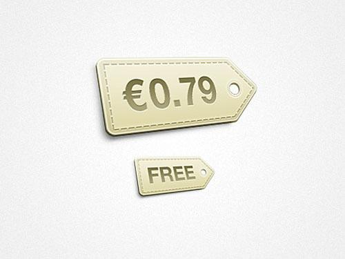 little_price_tag_psd_template