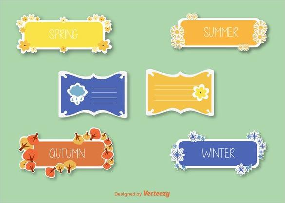 free_label_template_in_different_colours