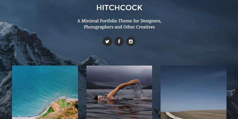 hitchcock_portfolio_gallery_wordpress_theme