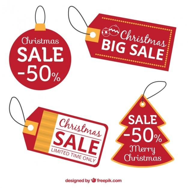 red_discount_christmas_tags