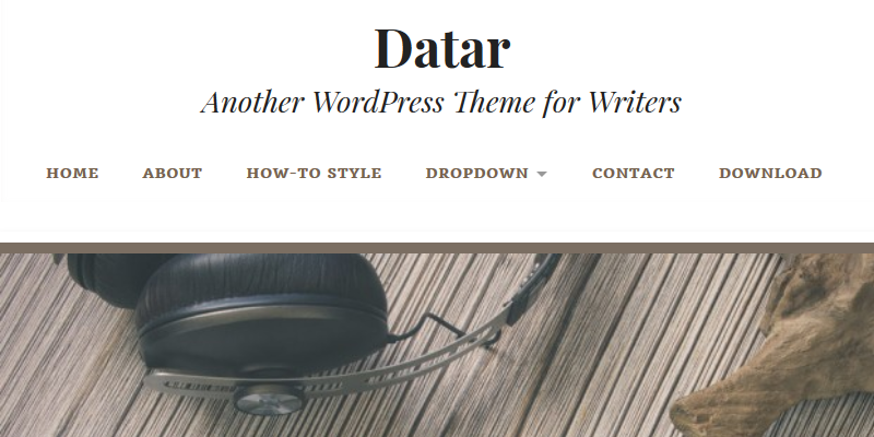 enter_datar_writers_wordpress_theme