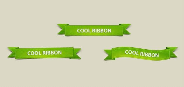 free_green_ribbons_pack