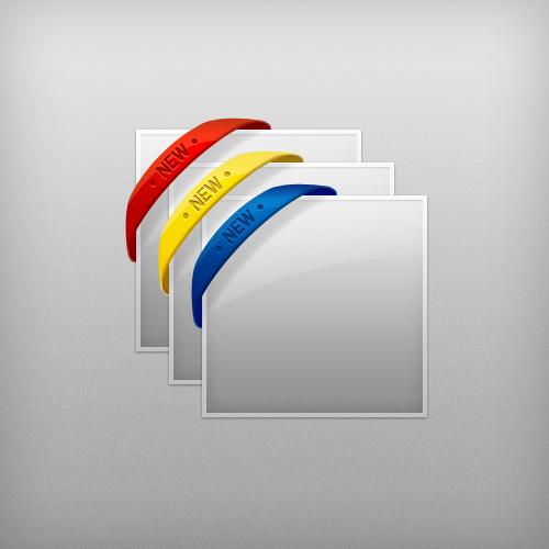 free_web_ribbons_template