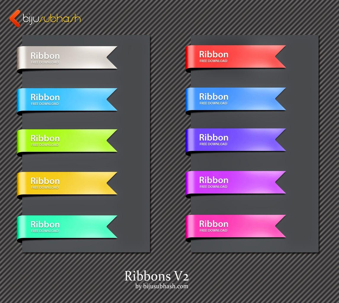 free_ribbons_psd_file