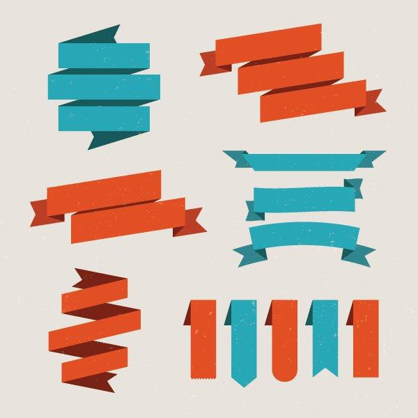 free_set_of_vector_ribbons_vector_graphic