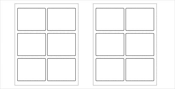 white_and_blank_free_label_template