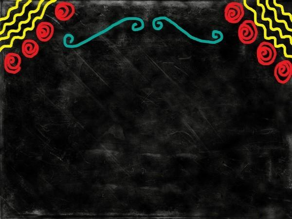06 chalkboard powerpoint background