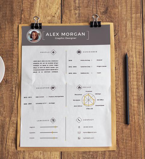 Free Simplistic Resume Template