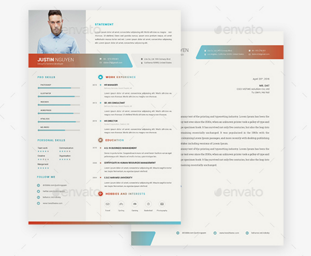 Colored Resume