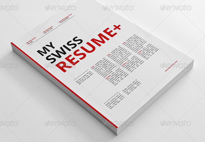 Swiss Resume+