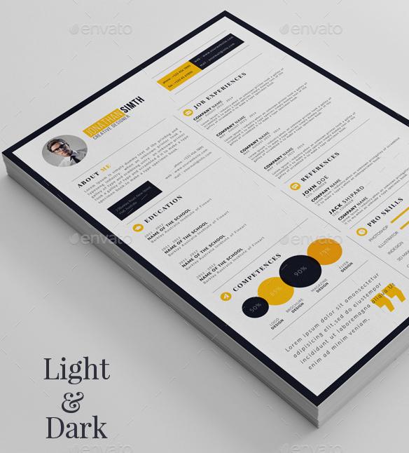 Print Ready Resume/CV Template