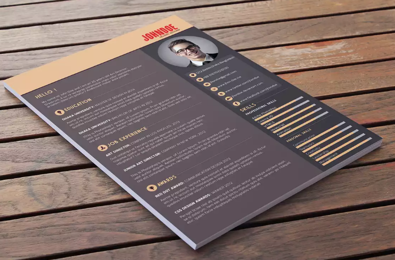 Resume template by Abdullah Al Mamun