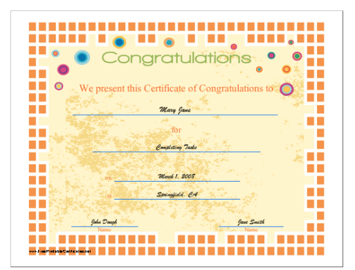 18 free certificate of completion templates