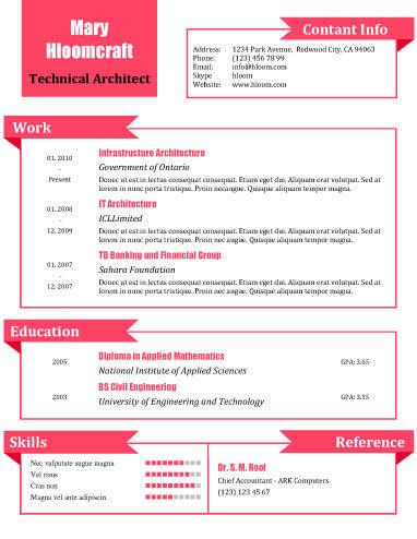 what a doll .docx resume template