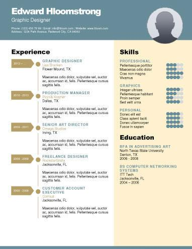 career diagram word resume