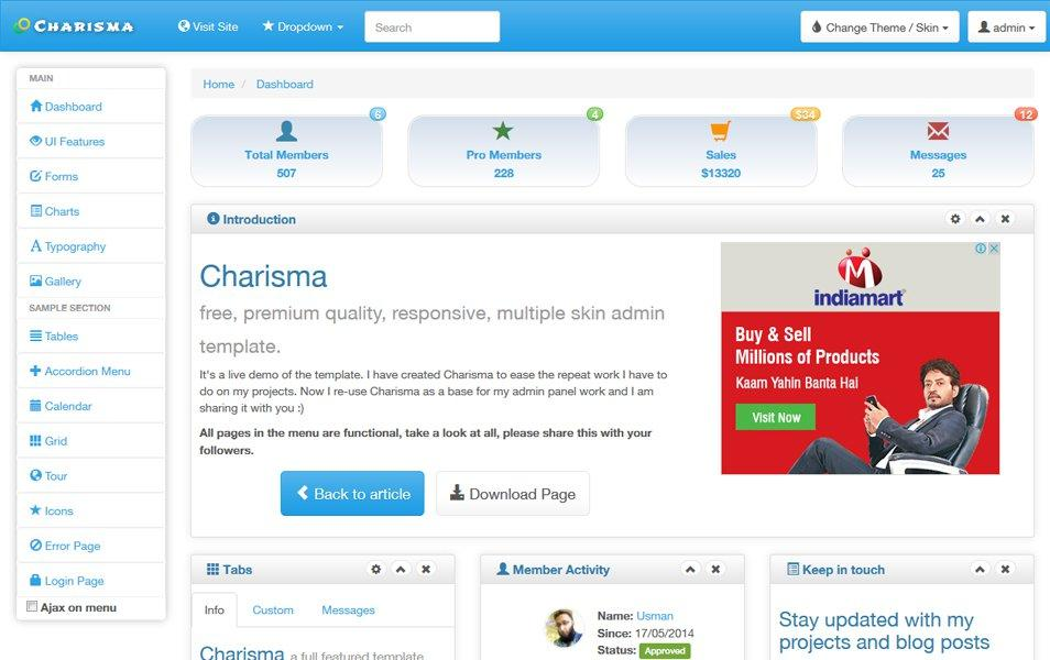 charisma_responsive_multiple_skin_admin_template