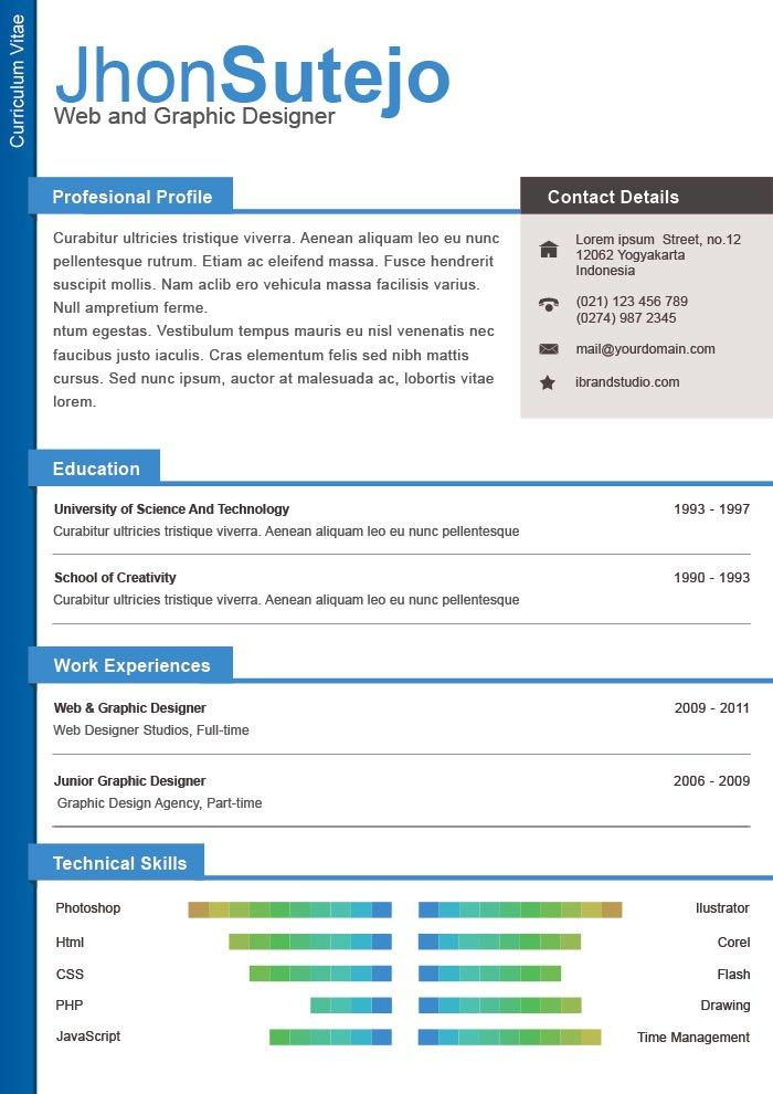 free professional page resume 1 format in word one template wordpress microsoft