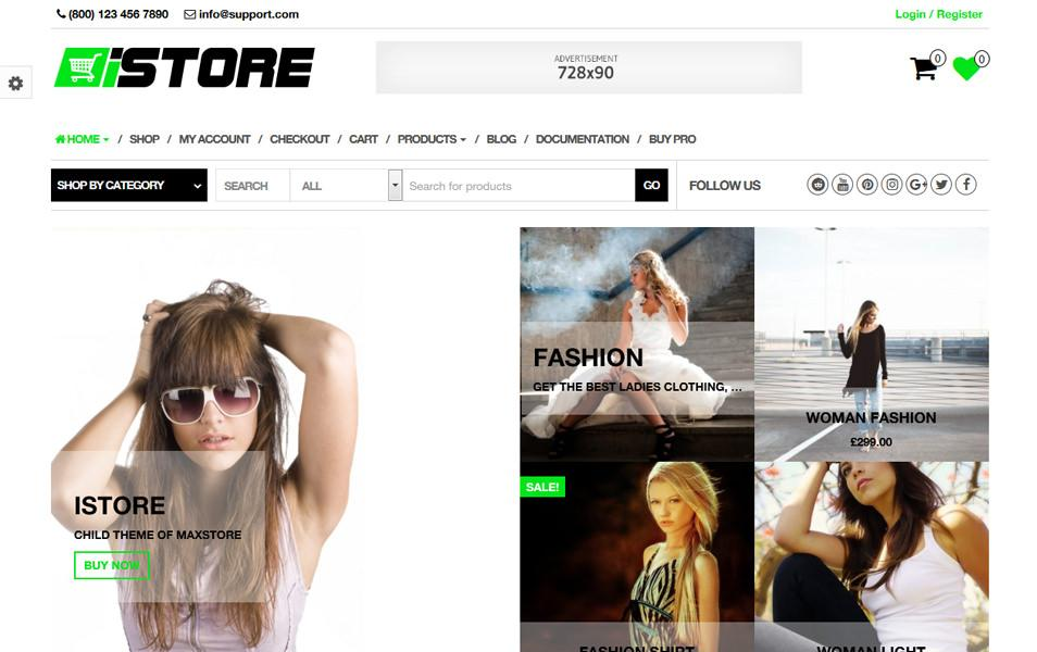 istore_ecommerce_wordpress_theme