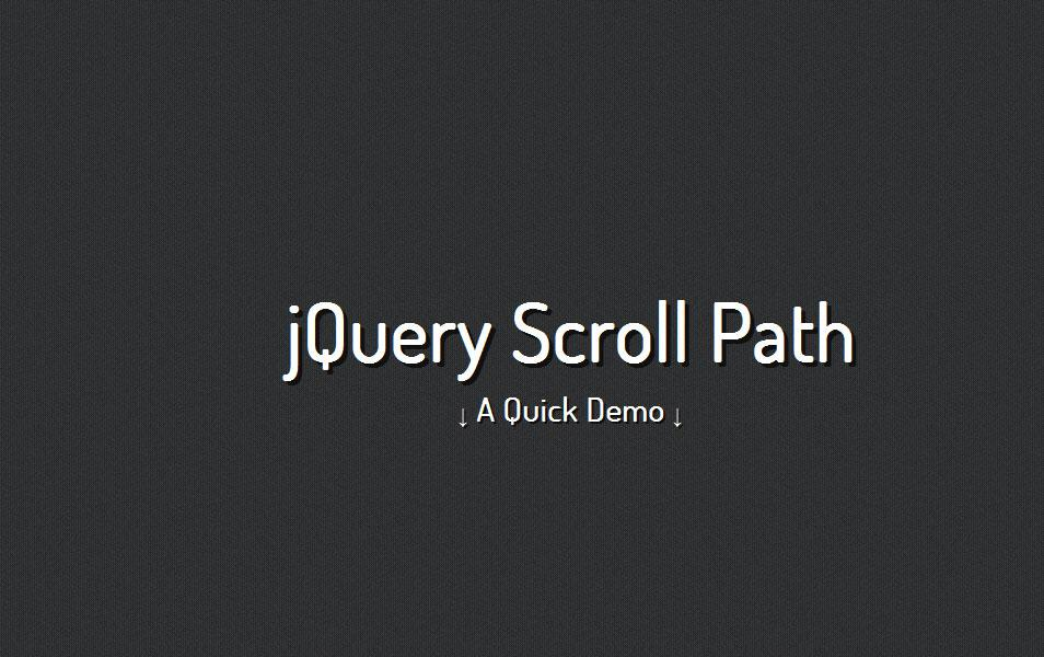 jquery_scroll_path_plugin